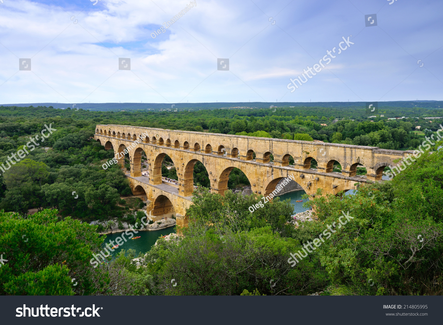 How Old Is The Aqueduct At Nimes 77