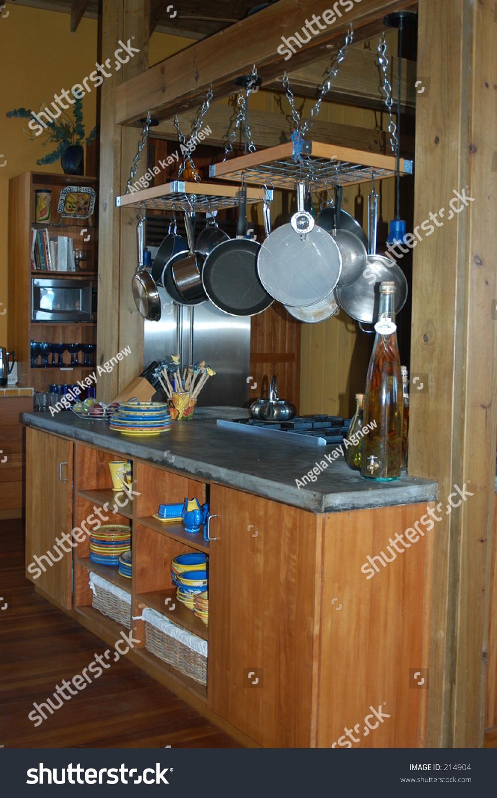 Kitchen Counter Stock Photo 214904 Shutterstock