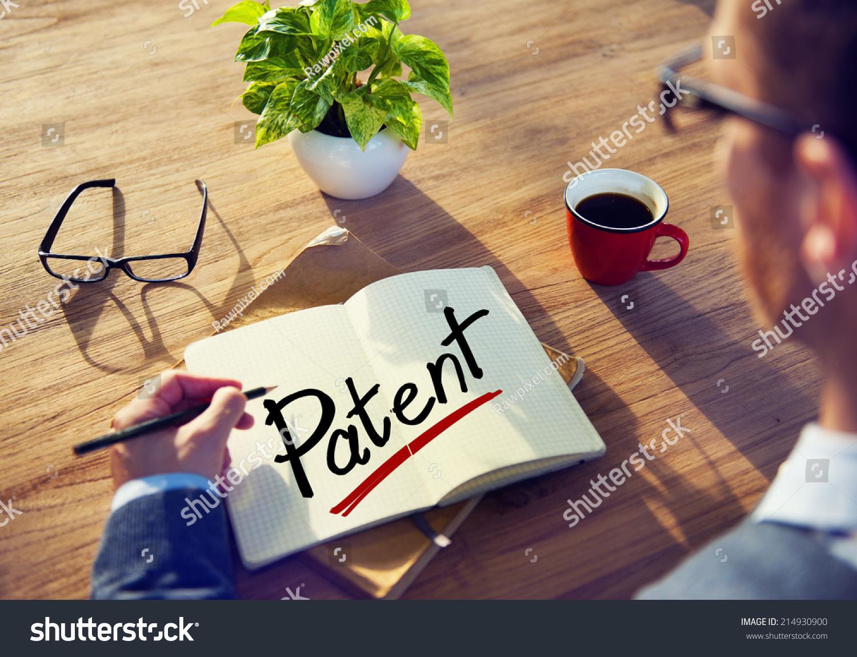 Man Note Word Patent Stock Photo 214930900 - Shutterstock