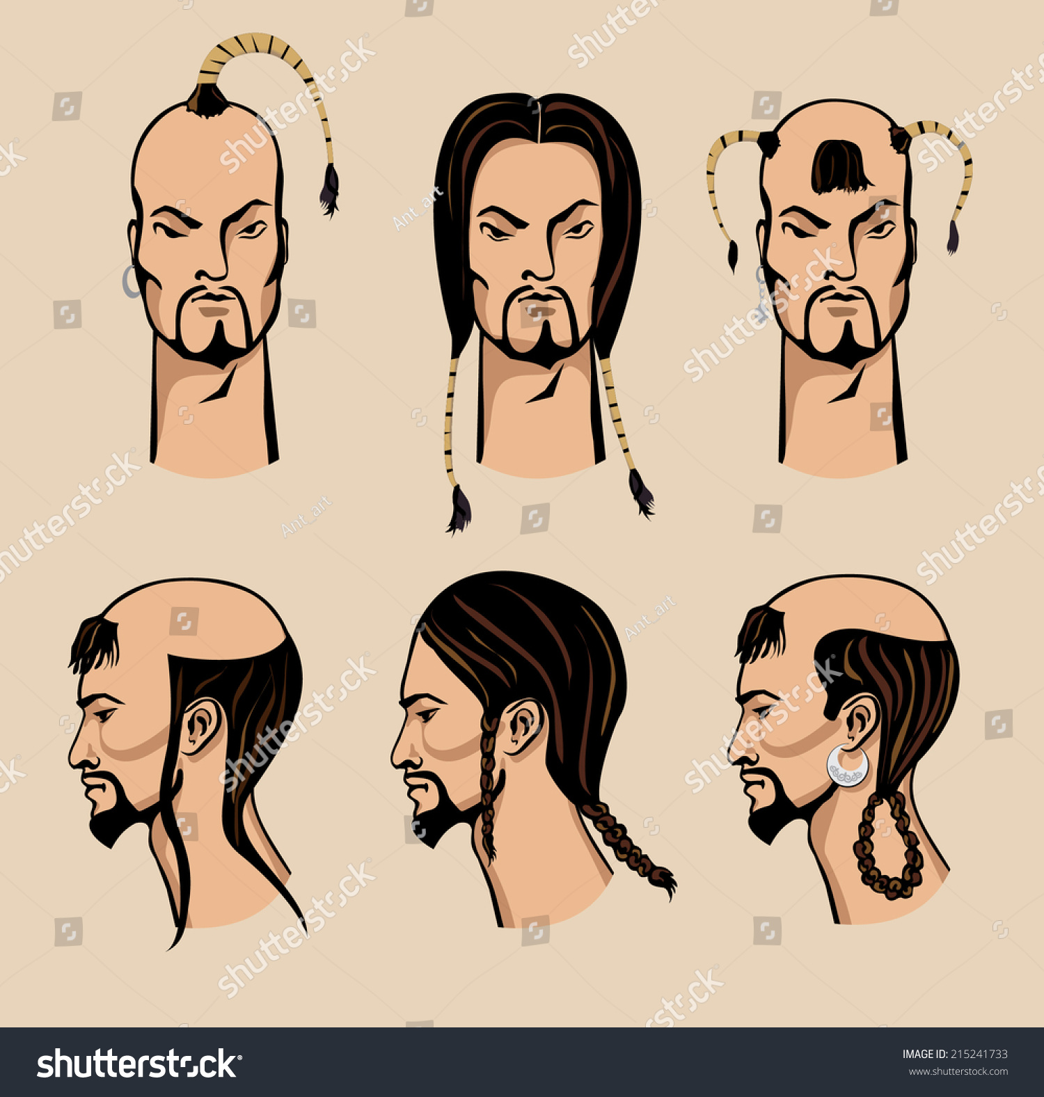 Ancient Chinese Hairstyles For Men Www Imgkid Com The