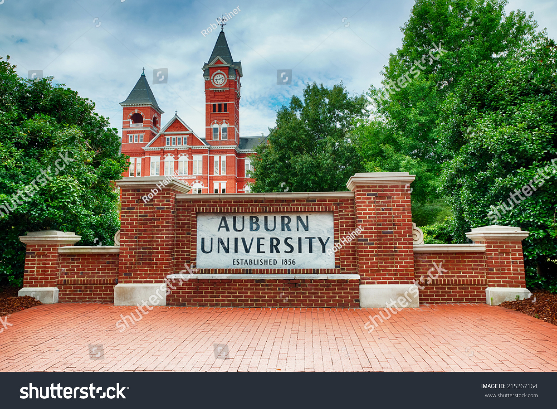Auburn Al Sept 14 Auburn University Stock Photo (Edit Now