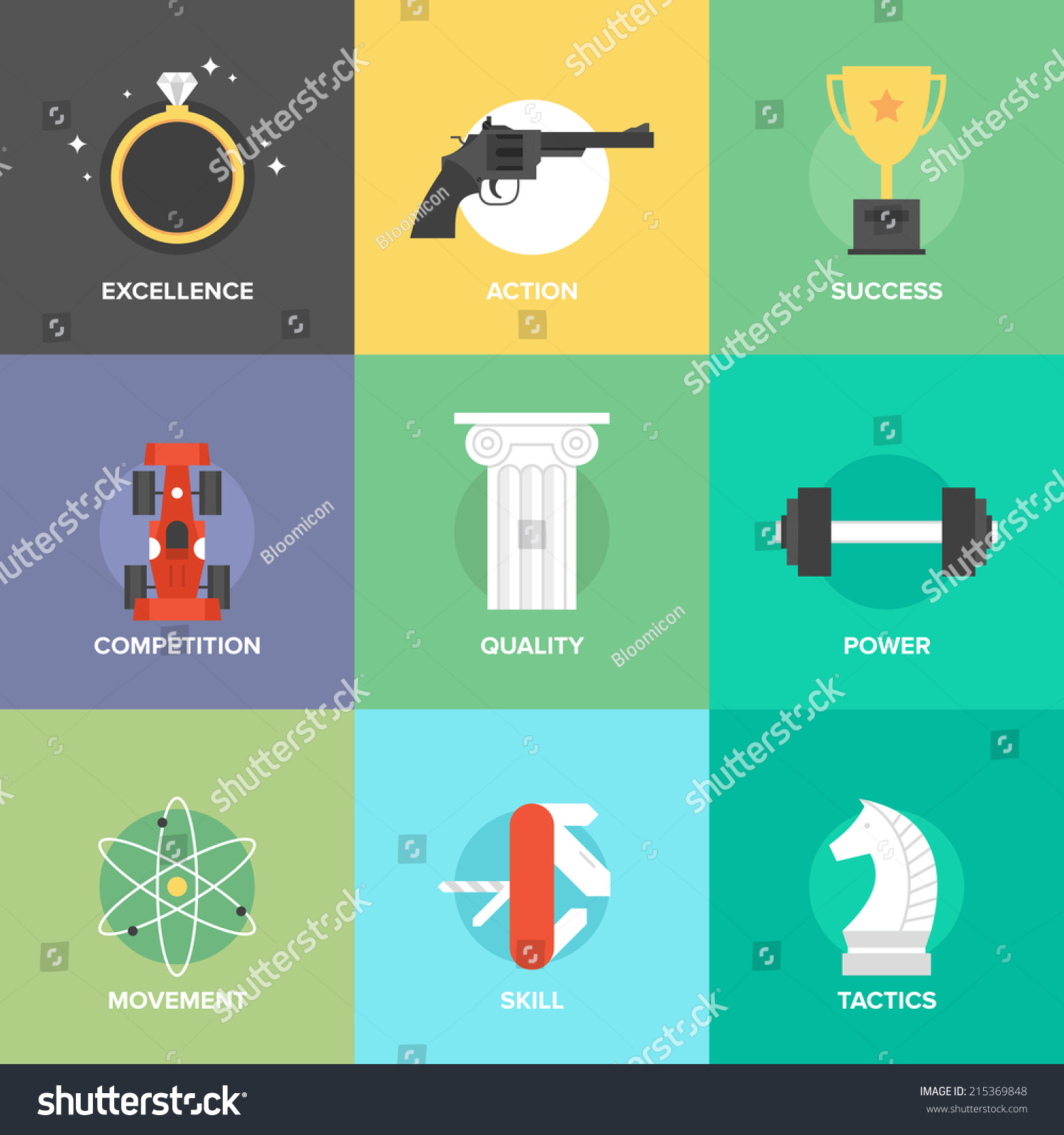 Furniture stock photos images amp pictures shutterstock - Set Of Creative Business Development Set Of Creative