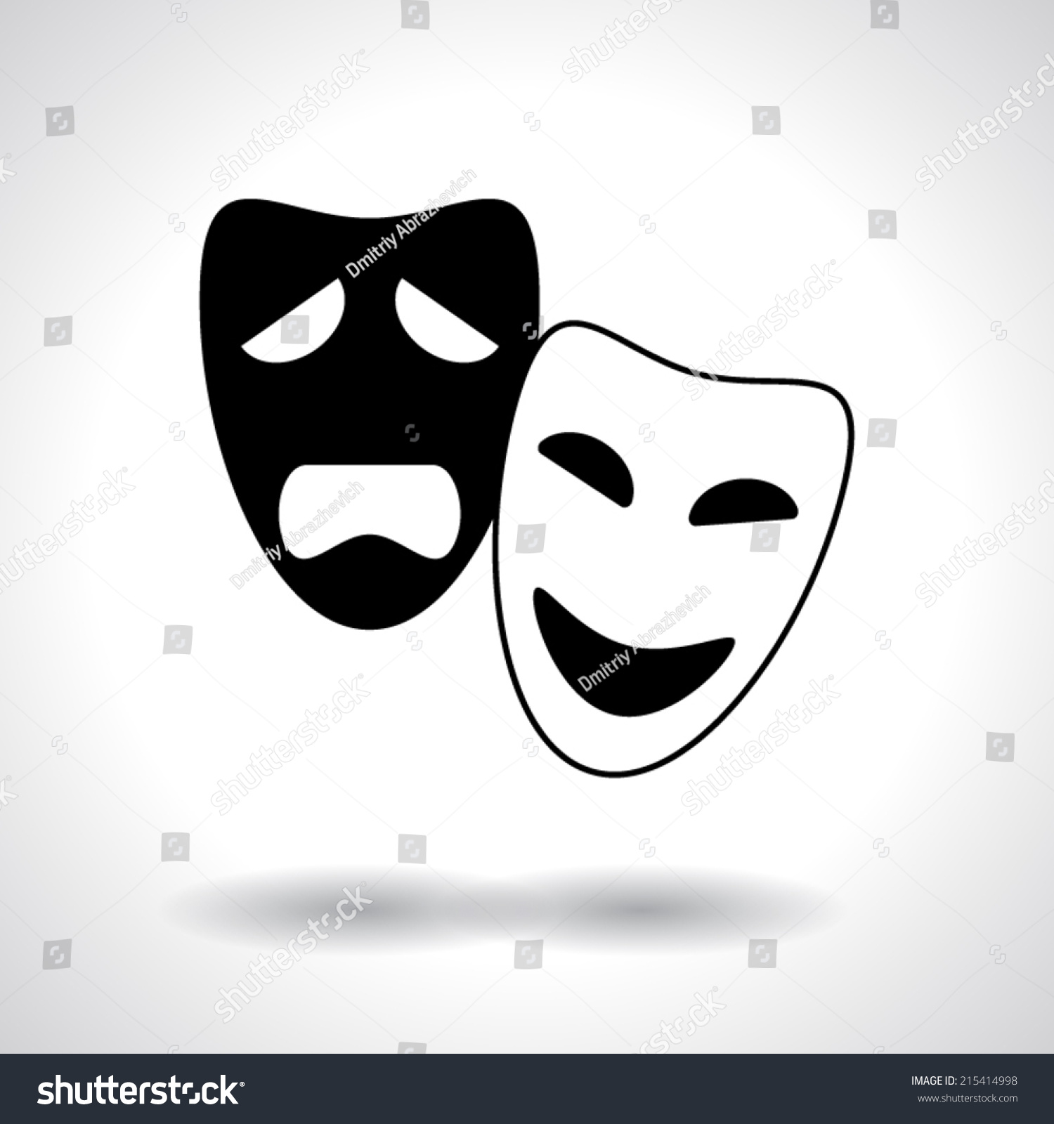 happy and sad theatre masks pdf