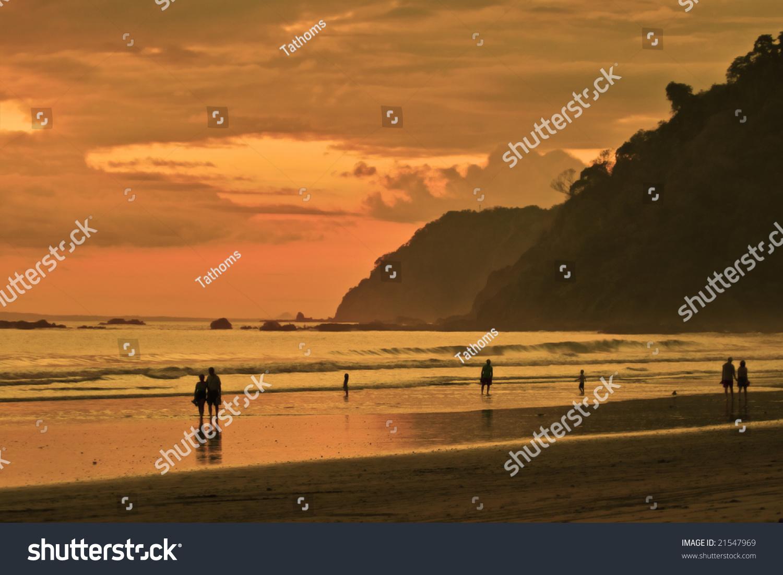 stock-photo-jaco-beach-at-orange-time-21