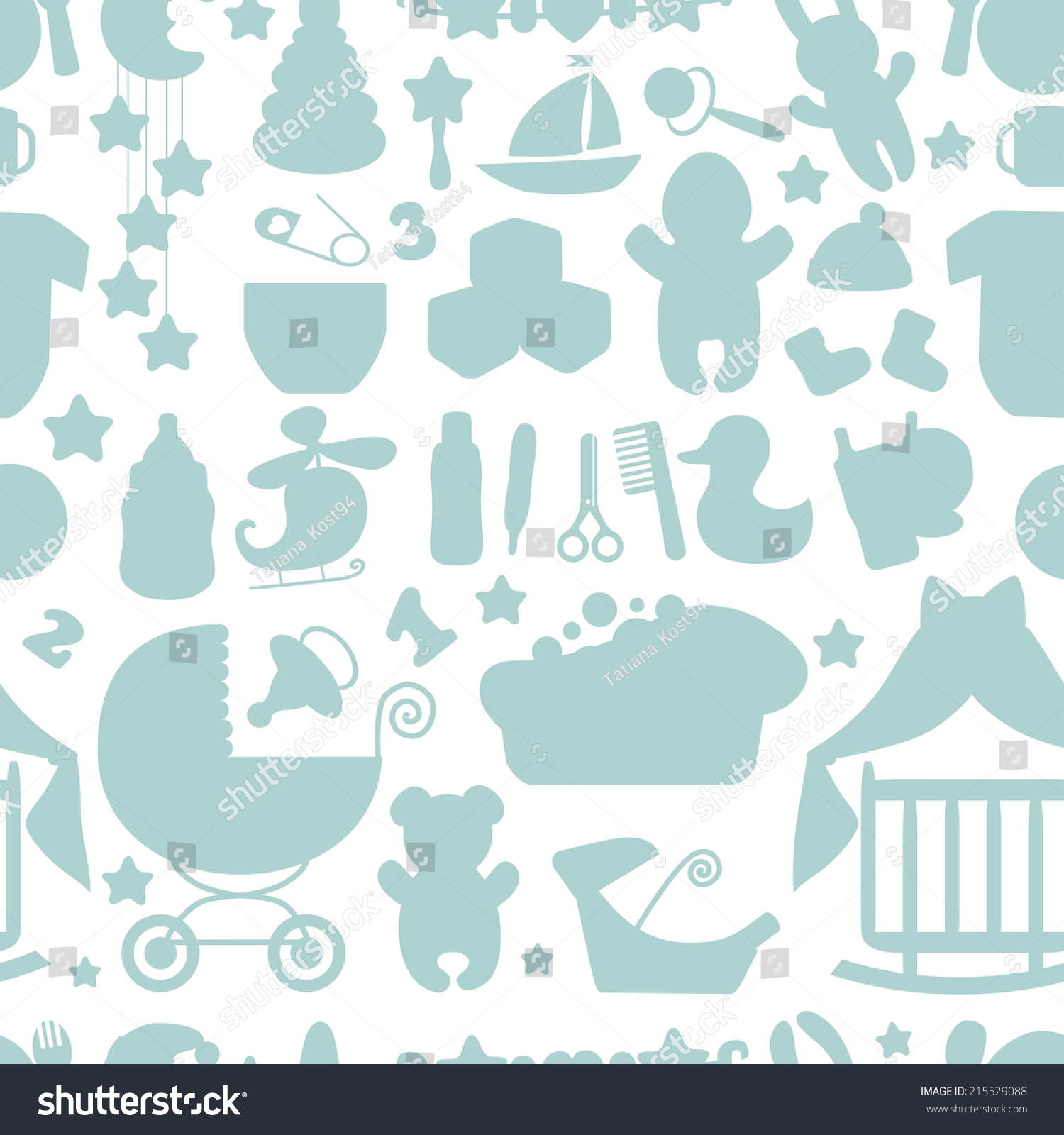 Baby boy background wallpaper baby boy background images baby boy - Sweet Newborn Seamless Pattern Baby Boy Cartoon Design Elements For Fabric Background