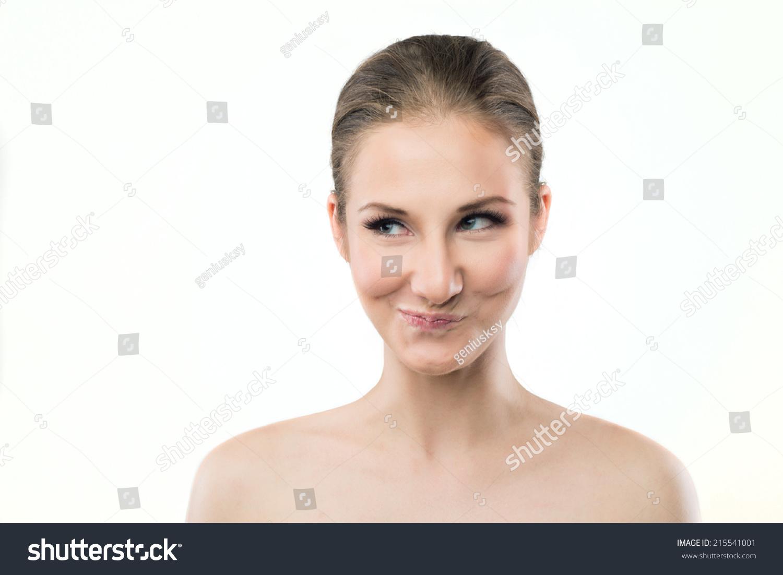 Mischievous face