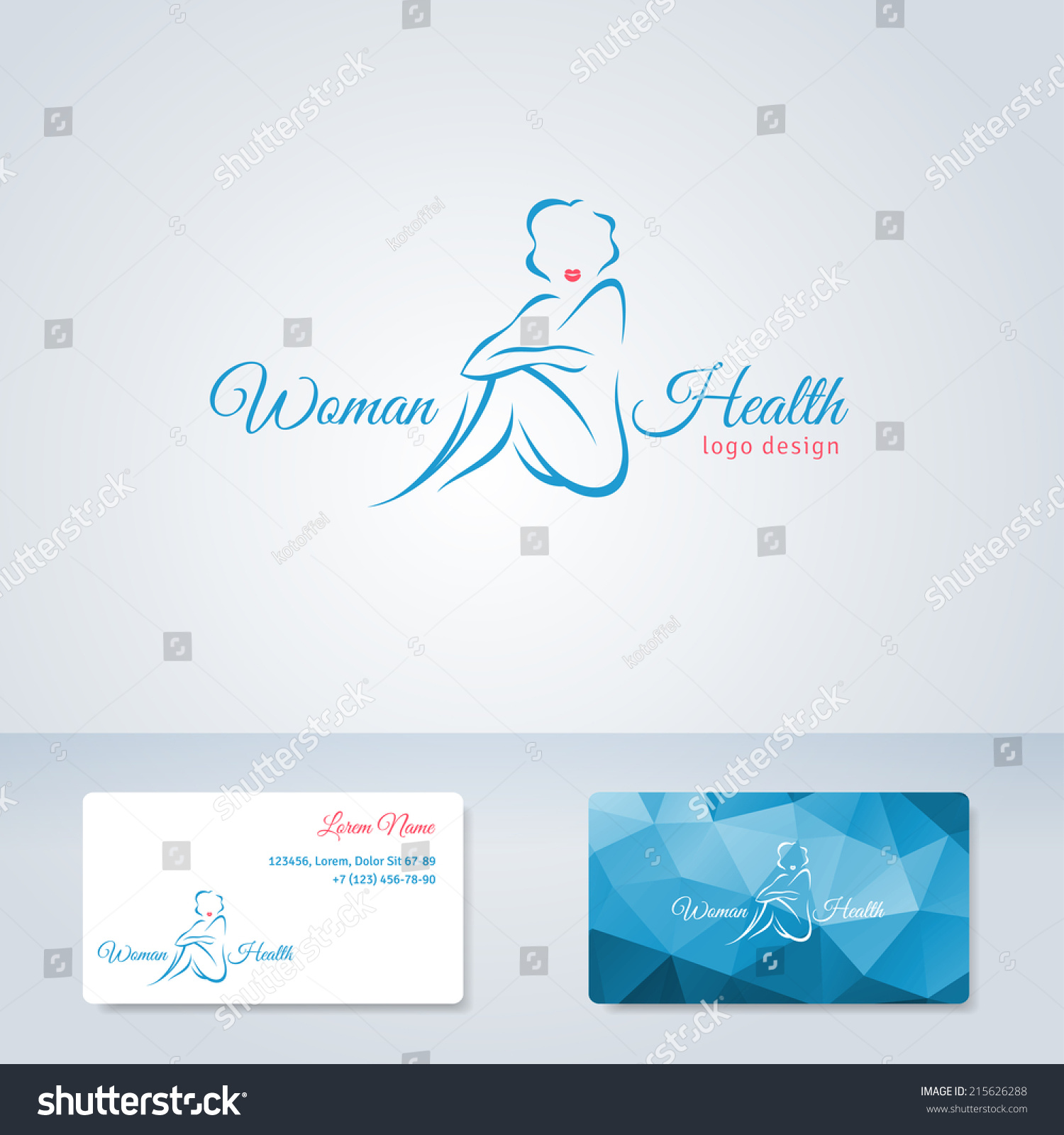 Woman vector logo design template girl stock vector 215626288 woman vector logo design template girl silhouette cosmetics beauty health spa reheart Gallery