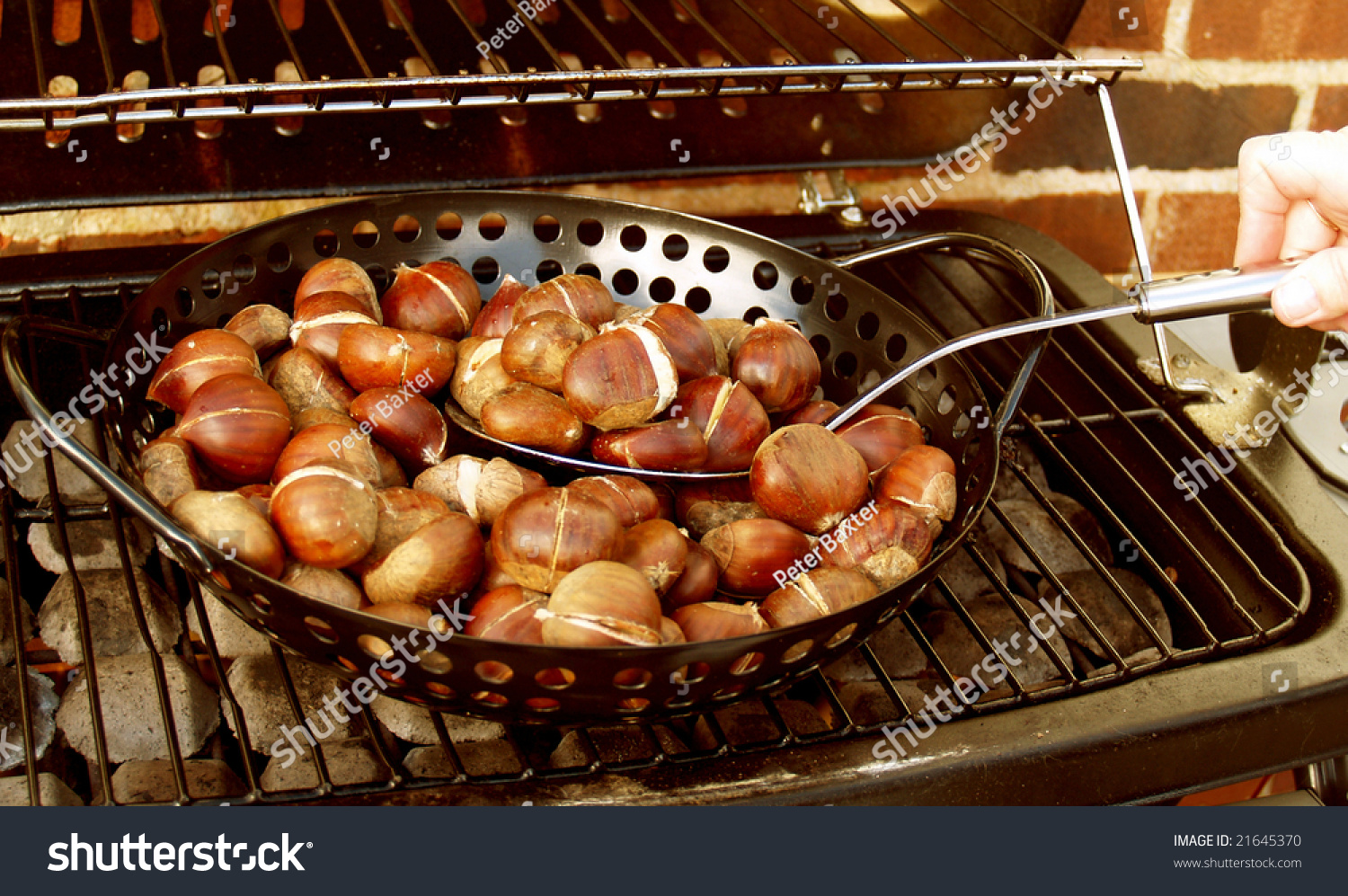 how to roast chestnuts on an open fire video