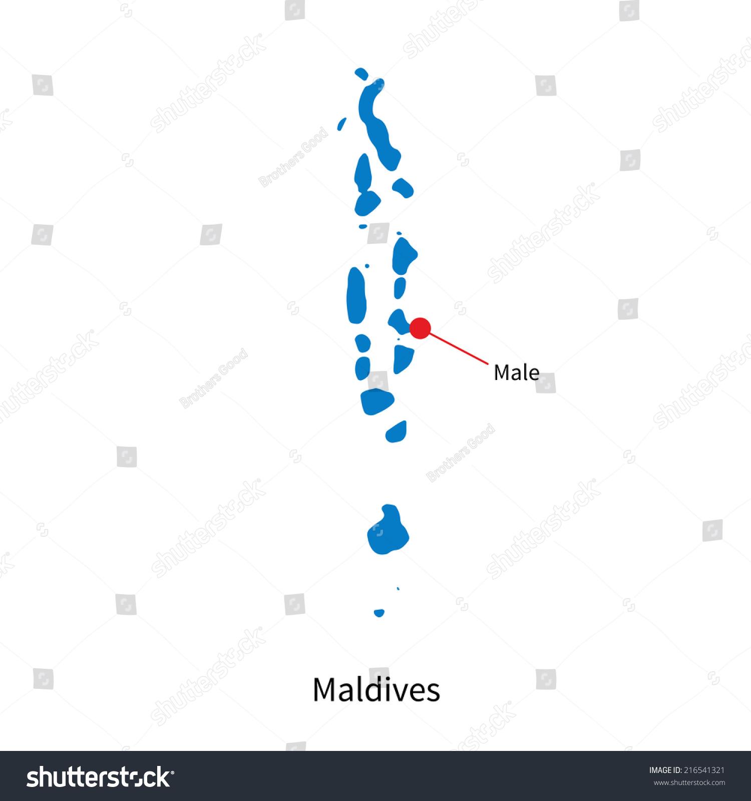 Maldives City Map