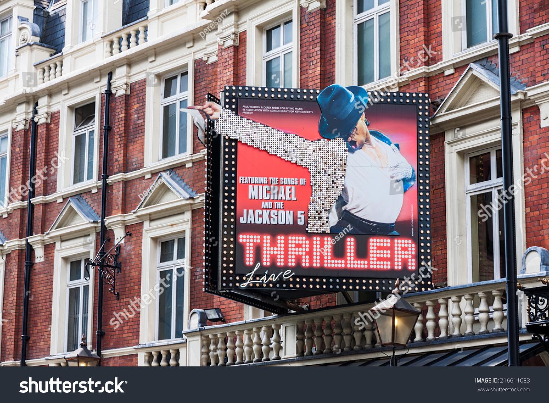London August 4 Featuring Michael Jackson Stock Photo (Edit