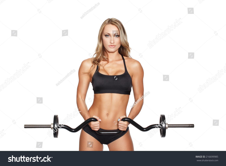 Blonde Fitness Model 53