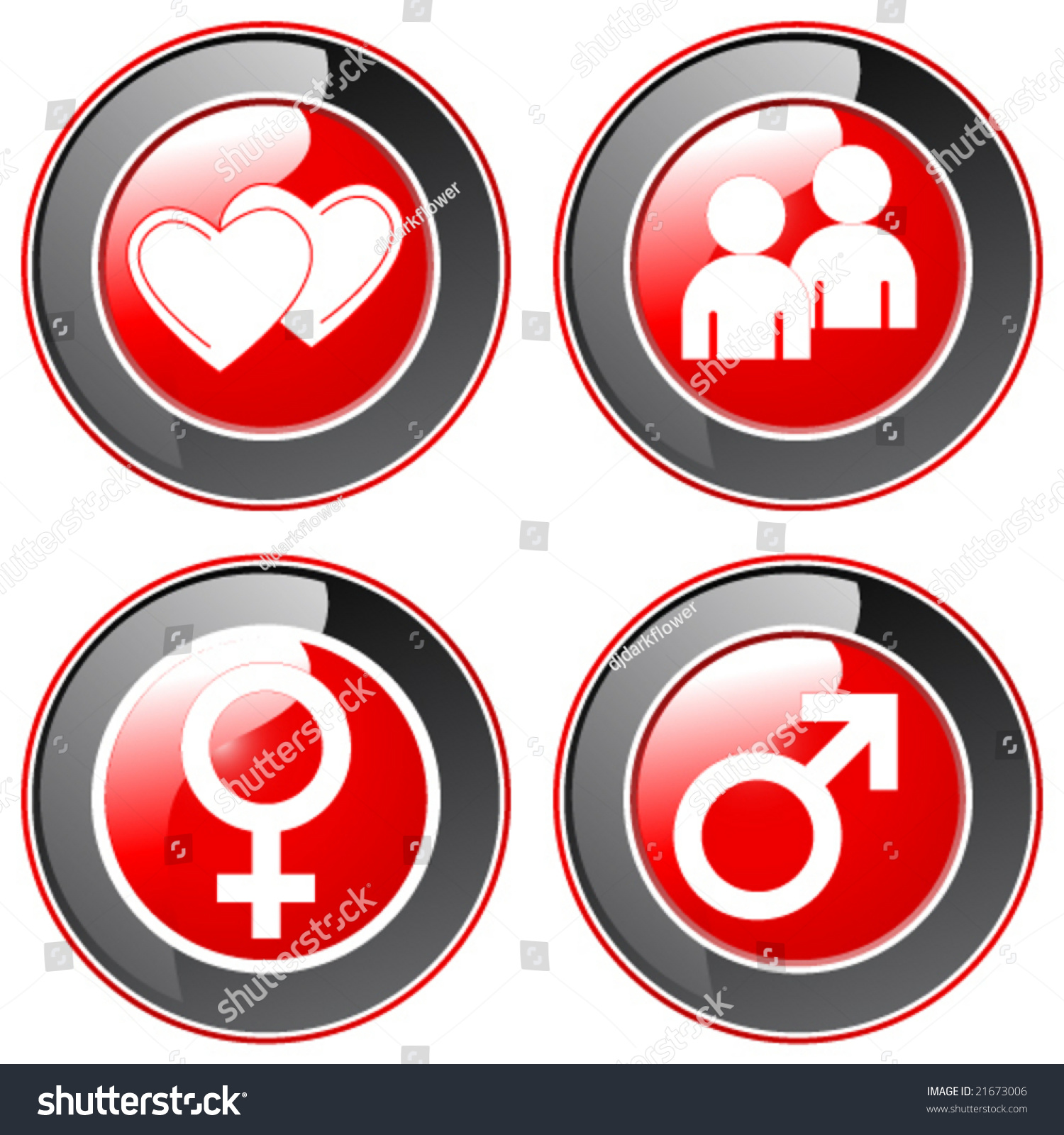 Dating buttons