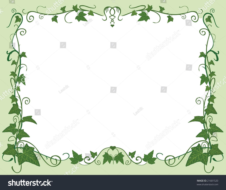 Green Design Frame Stock Vector 21681520 - Shutterstock