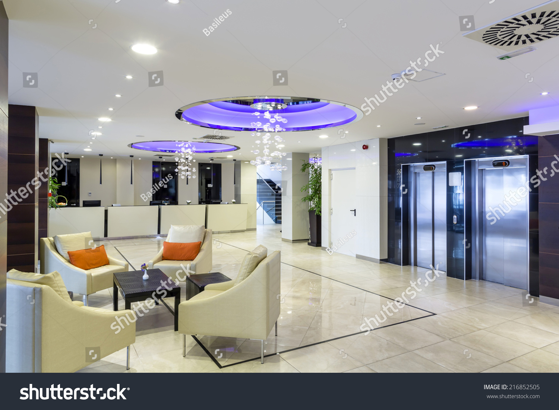 Hotel Foyer Interiors : Hotel lobby hall interior stock photo shutterstock
