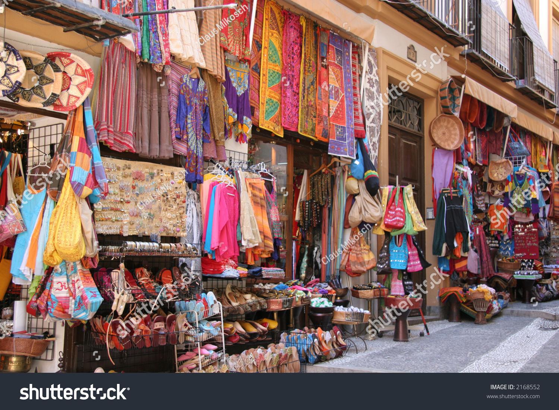 Arabic hippie shop stock photo 2168552 shutterstock for Salon hippie