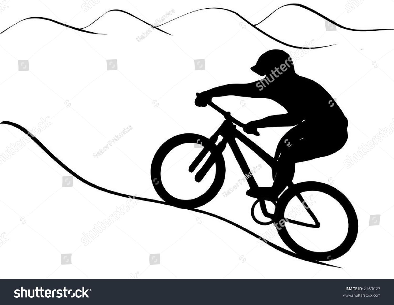 bike trail clipart - photo #14