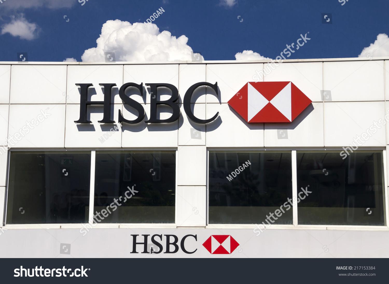 Ankara Jun 06 Hsbc Bank Branch Stock Photo (Edit Now) 217153384