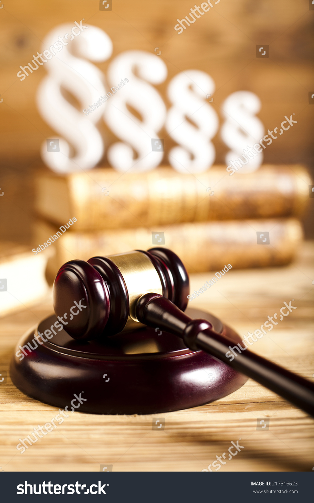 Gavel paragraph sign symbol stock photo 217316623 shutterstock gavel paragraph sign symbol buycottarizona Gallery