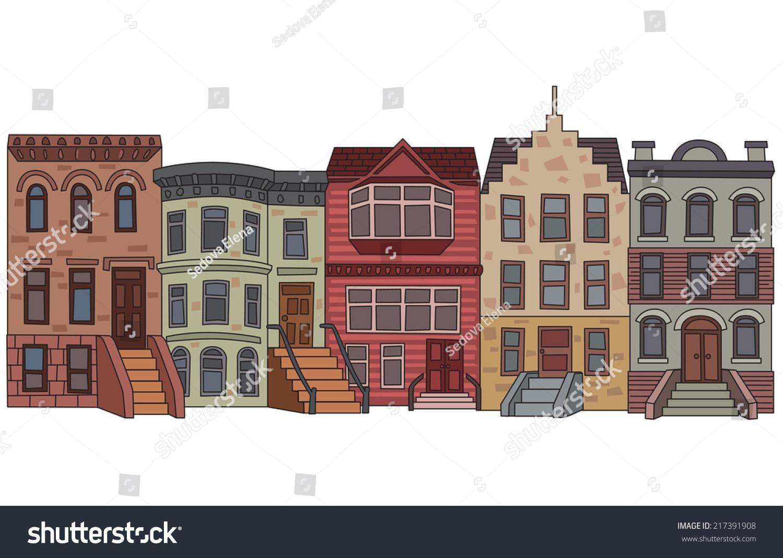 Apartment Building Illustration