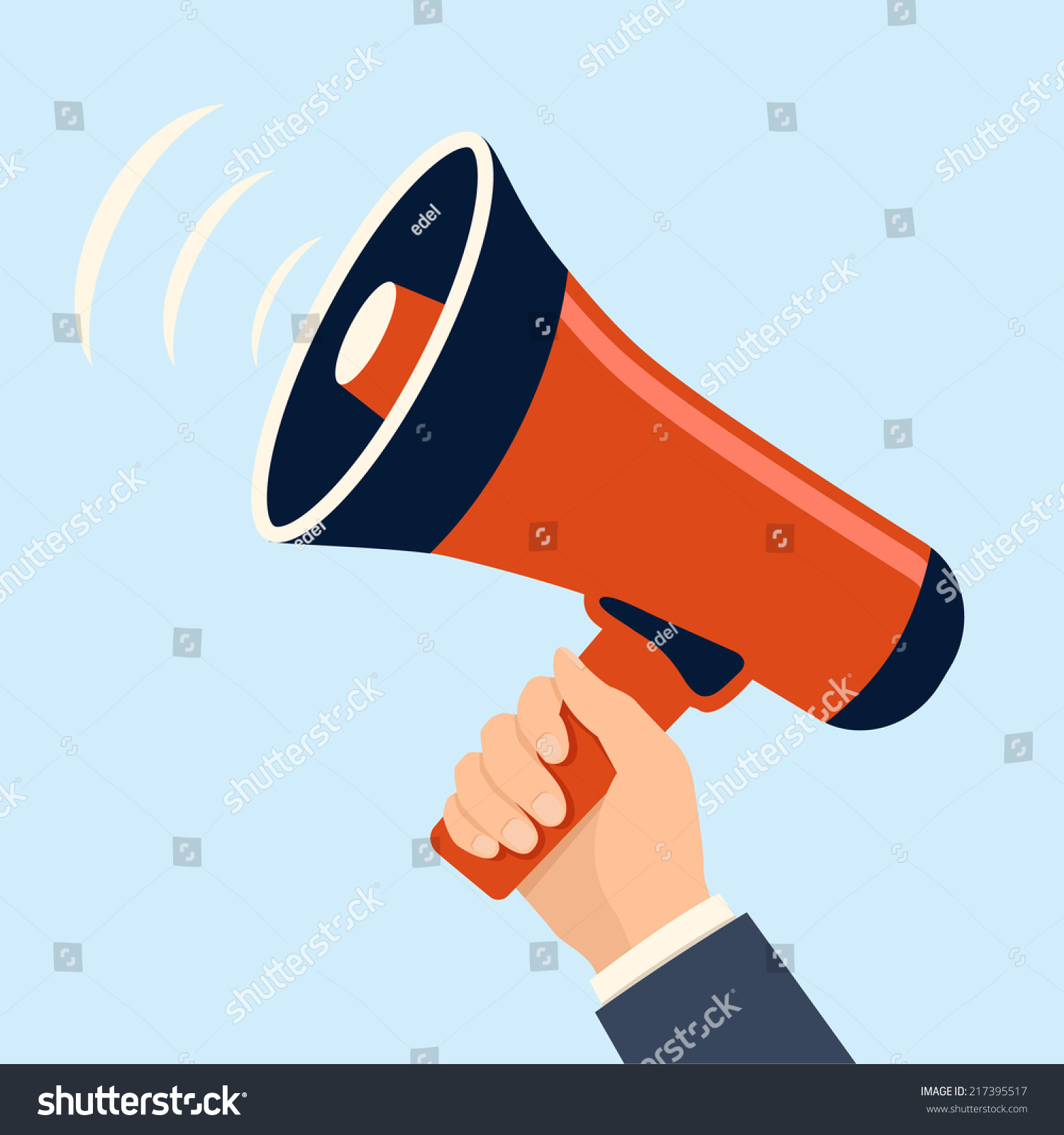 hand holding megaphone loudspeaker icon flat stock vector royalty free 217395517 https www shutterstock com image vector hand holding megaphone loudspeaker icon flat 217395517