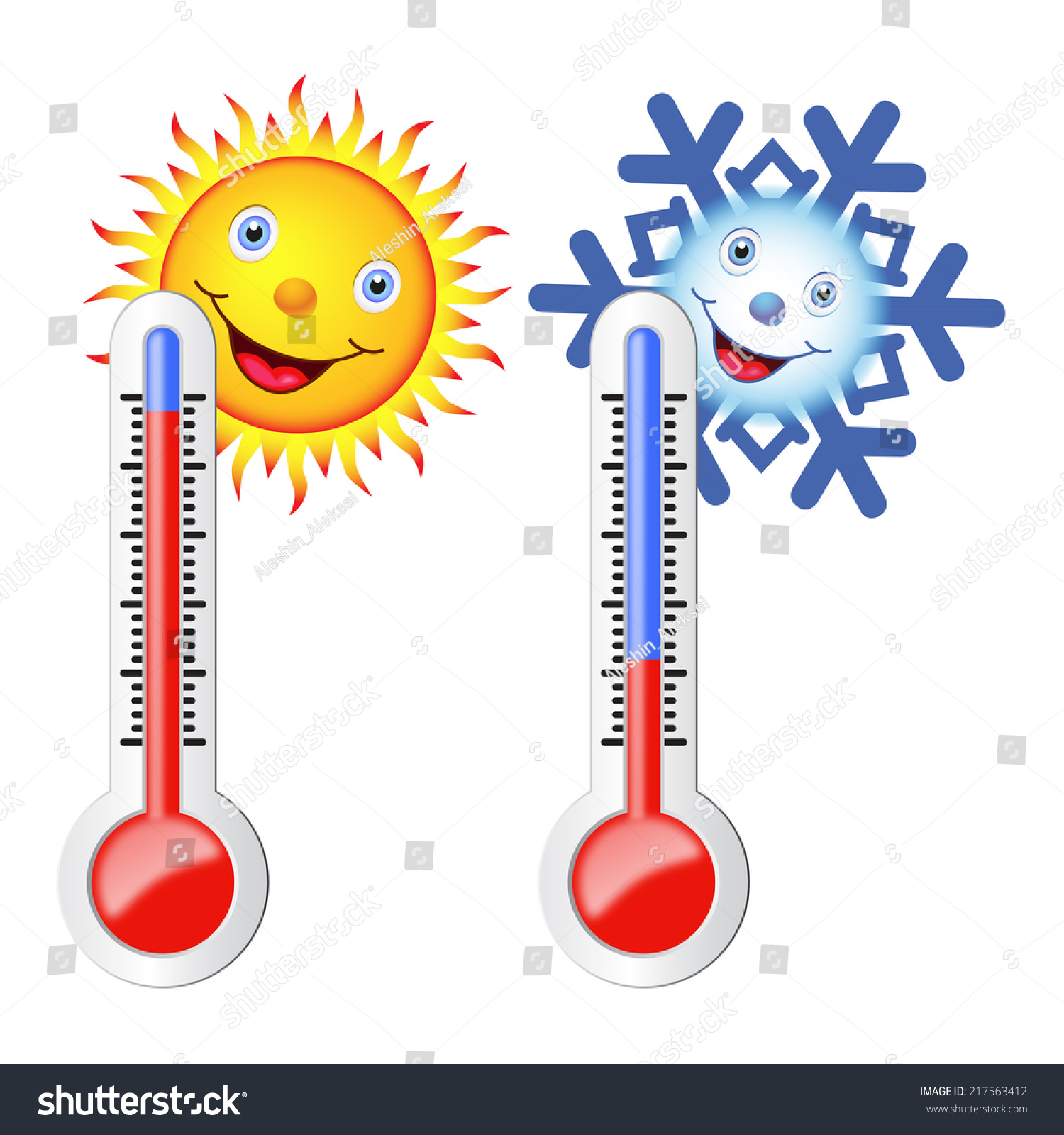 Icon Of Thermometer Wi...