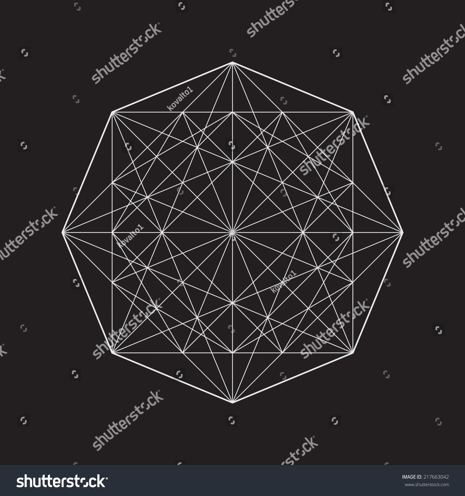 Geometric Line Design Patterns : Geometric element line design square pattern stock