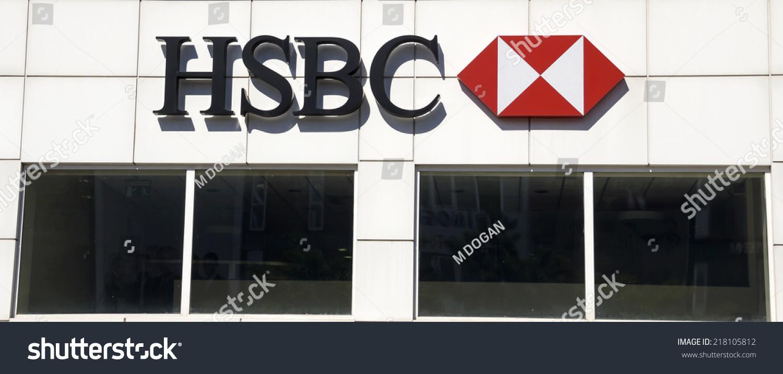 Ankara JUN 21 HSBC Bank Branch Stock Photo (Edit Now) 218105812