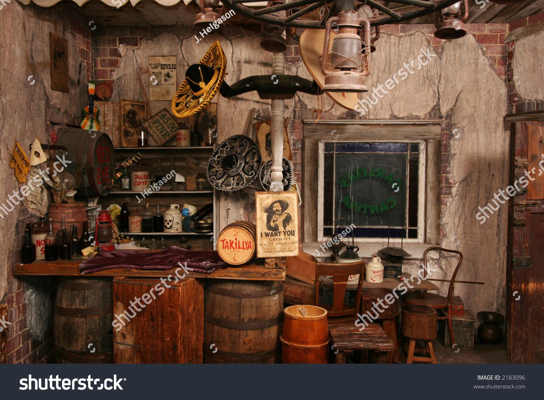 inside replica wild west saloon stock photo 2183096 shutterstock. Black Bedroom Furniture Sets. Home Design Ideas