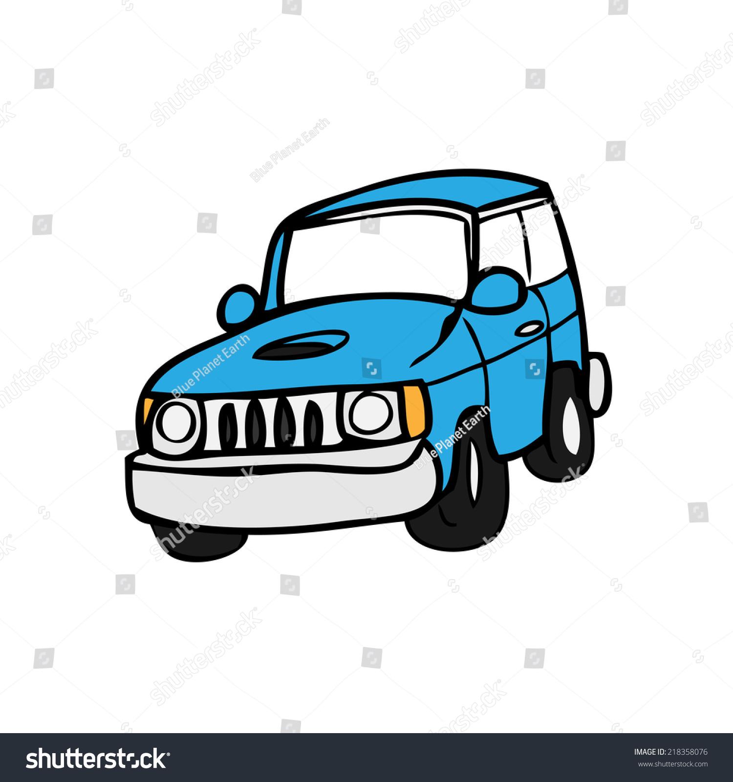 100 Vector Cartoon Off Road Vehicle Offroad Car On
