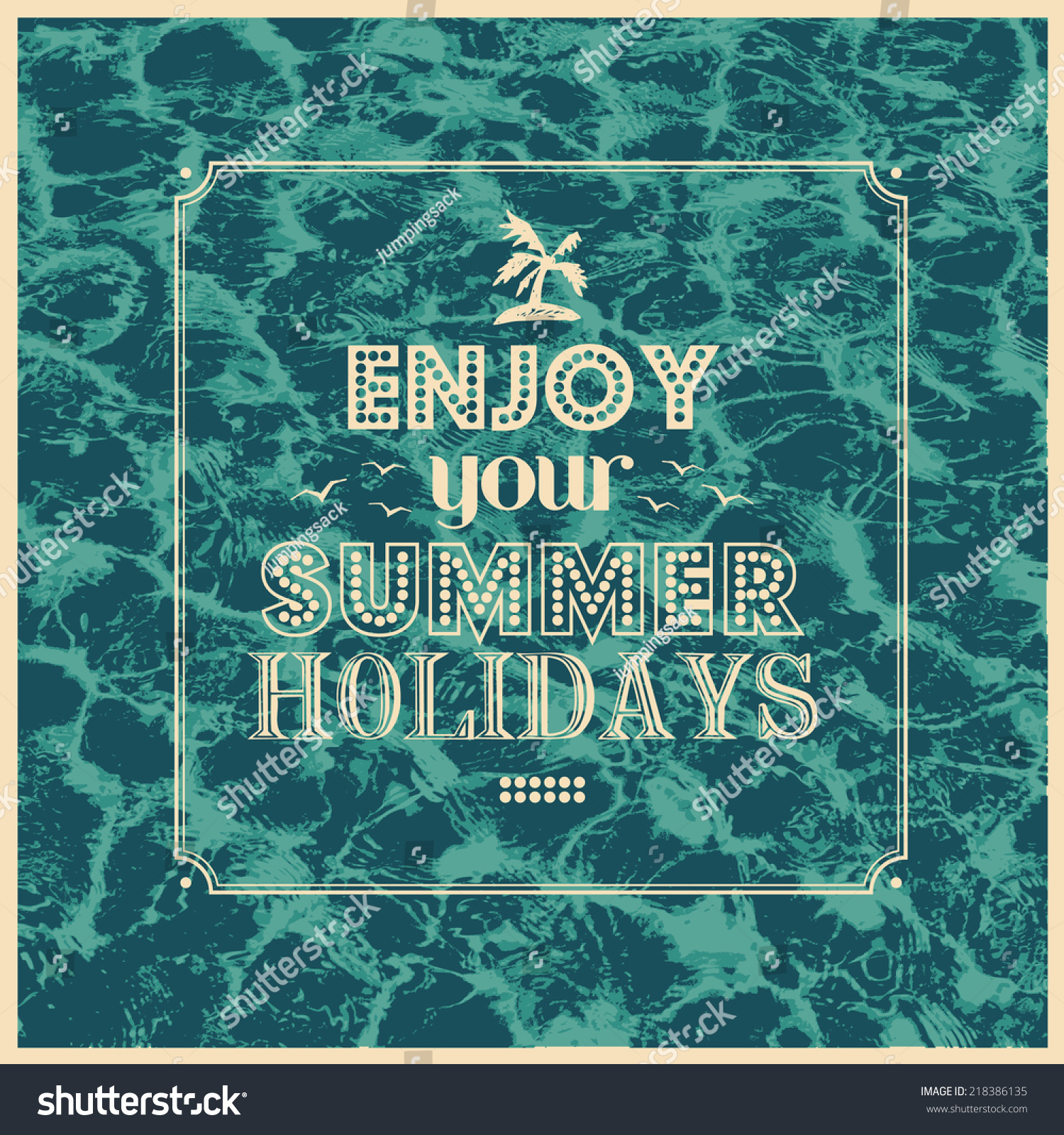 Your summer holidays?