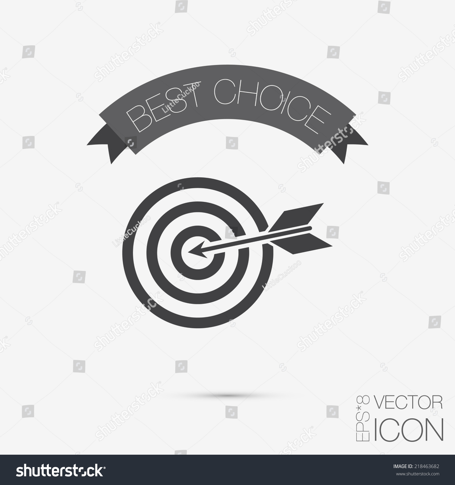 Target symbol sporty character hit target stock vector 218463682 target symbol sporty character hit the target buycottarizona Image collections