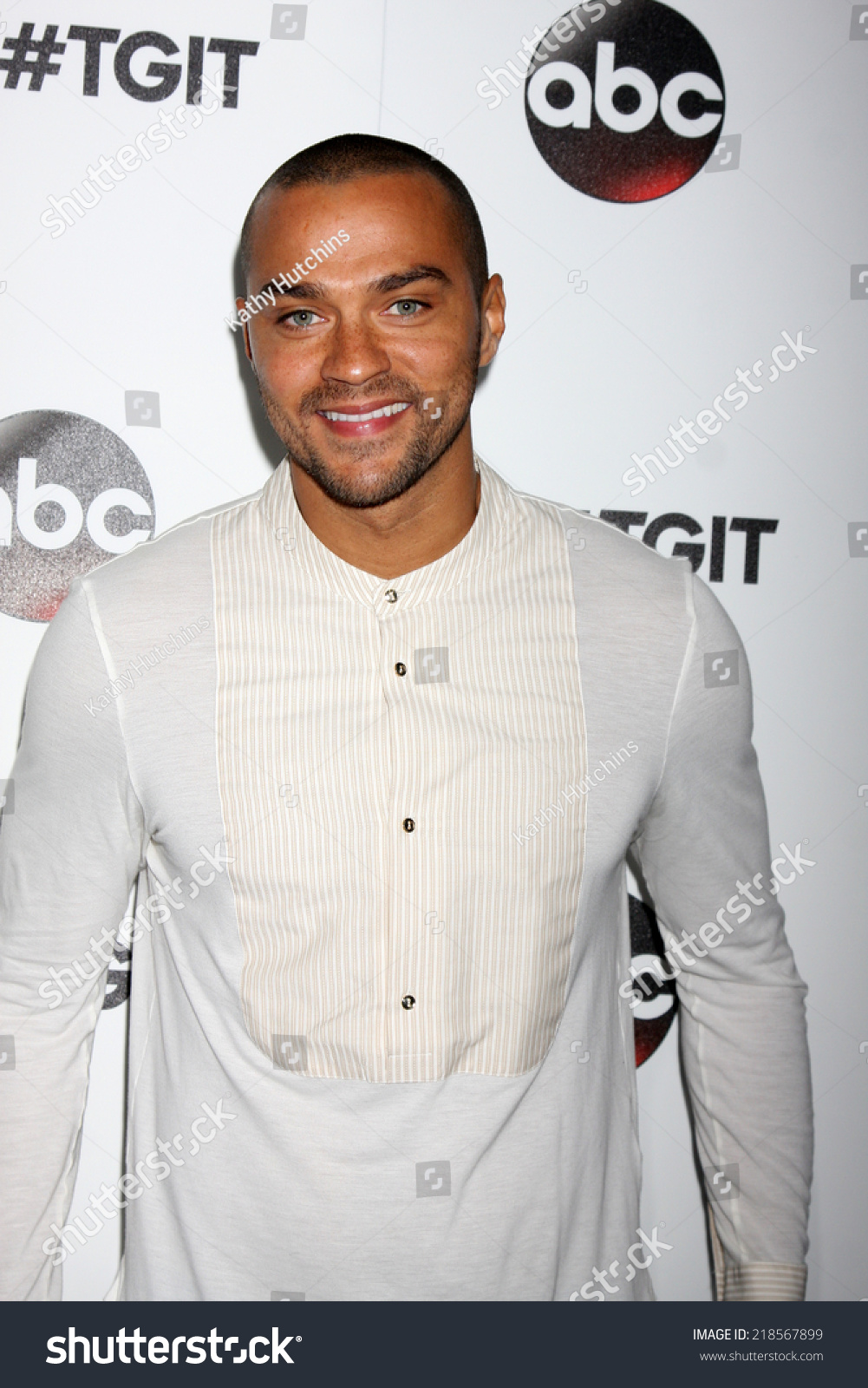 LOS ANGELES SEP 20 Jesse Williams Stock Photo (Download Now ...