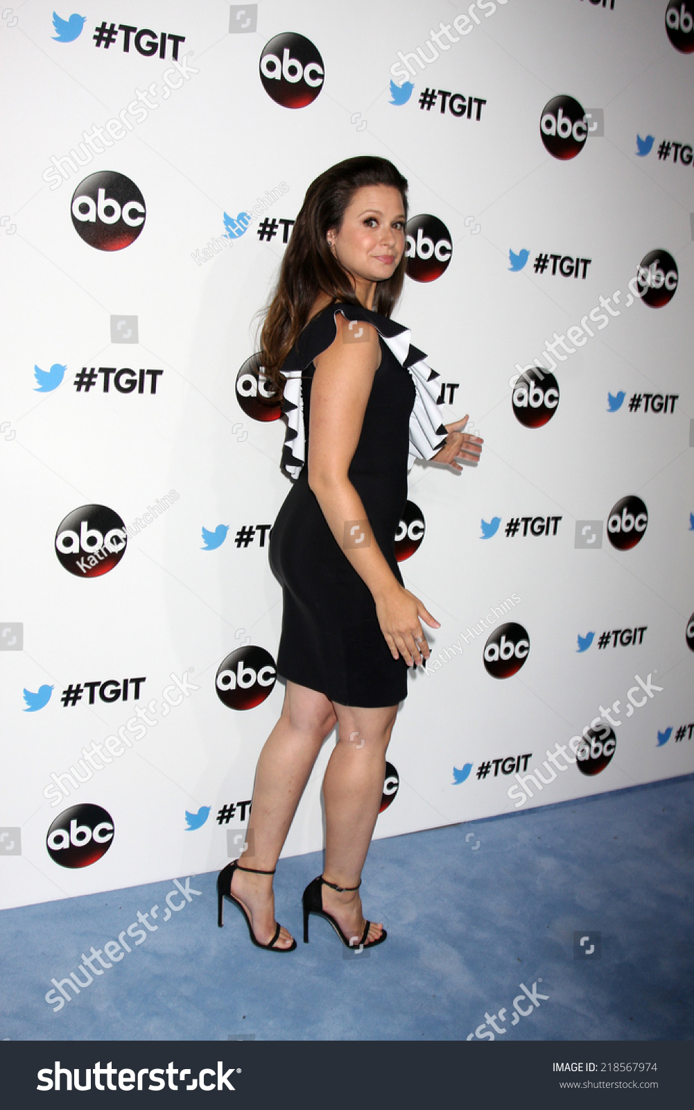 LOS ANGELES SEP 20 Katie Lowes Stock Photo (Royalty Free) 218567974 ...
