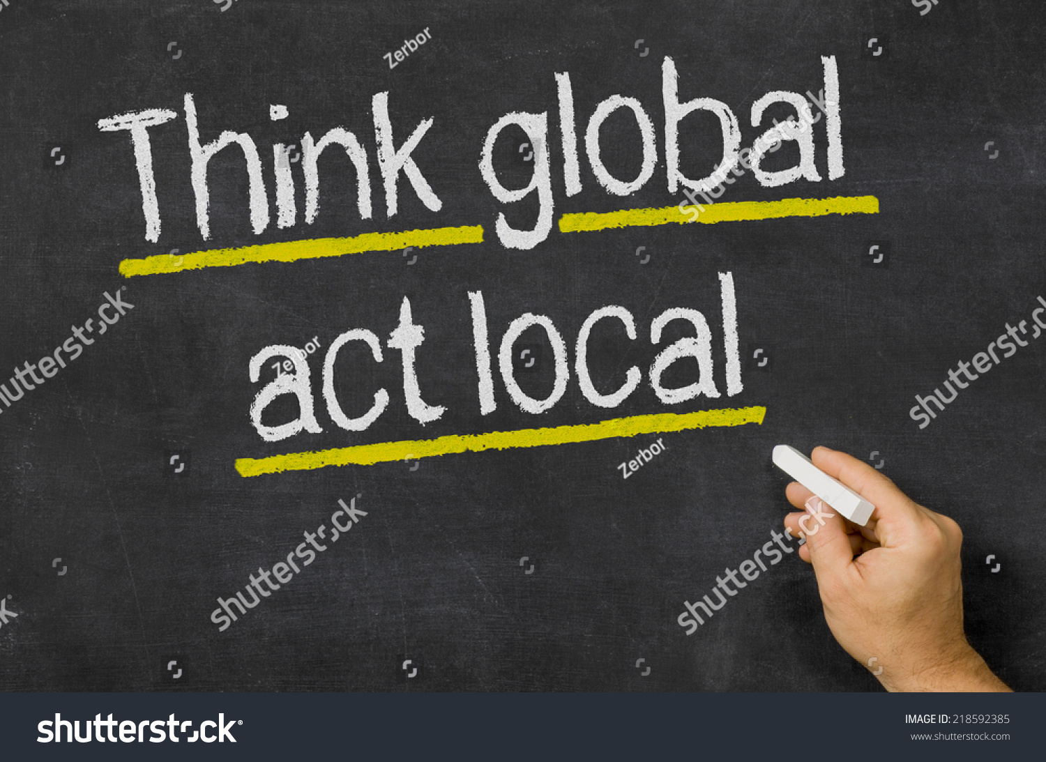 thinking globally and acting locally essay Thinking globally in environmental education: but the eblens include his 1972 essay, titled 'think globally, act locally' thinking/acting locally/globally 4.