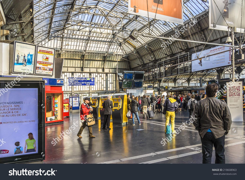 Paris France May 17 2014 Interior Stock Photo Edit Now 218608963
