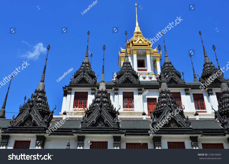 Loha Prasat Metal Palace In Wat Ratchanatdaram Worawihan ...