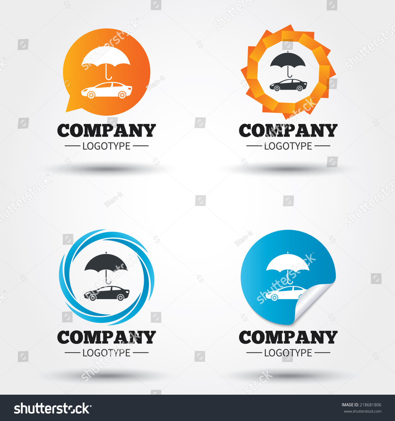 Car Insurance Sign Icon. Protection Symbol. Business ...