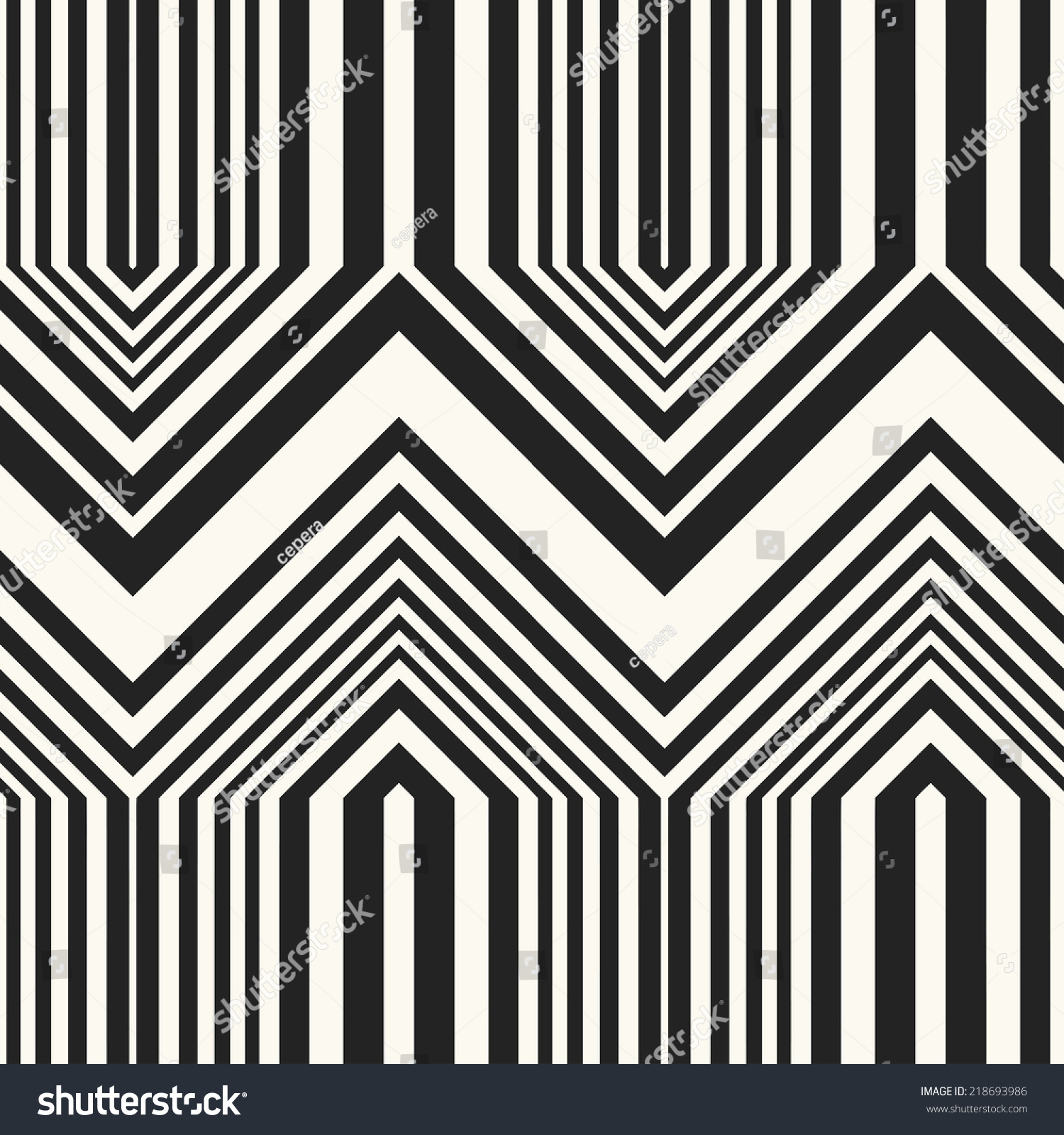 abstract striped textured chevron motif seamless stock illustration 218693986 shutterstock. Black Bedroom Furniture Sets. Home Design Ideas