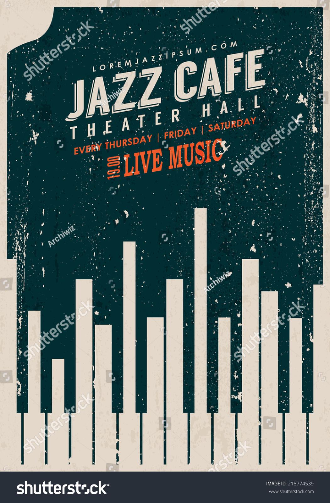 Jazz posters vintage