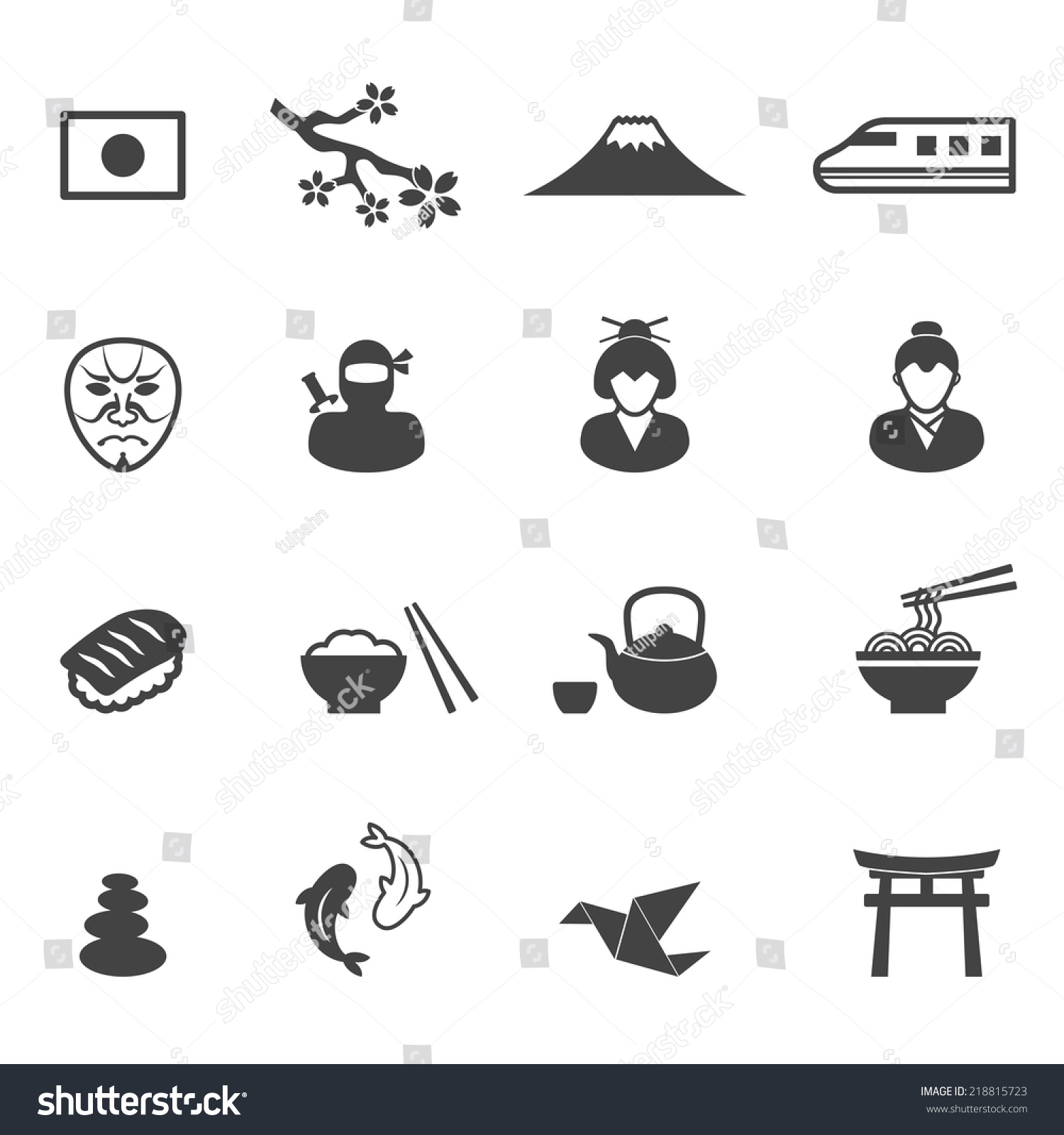 Japanese Culture Symbo...