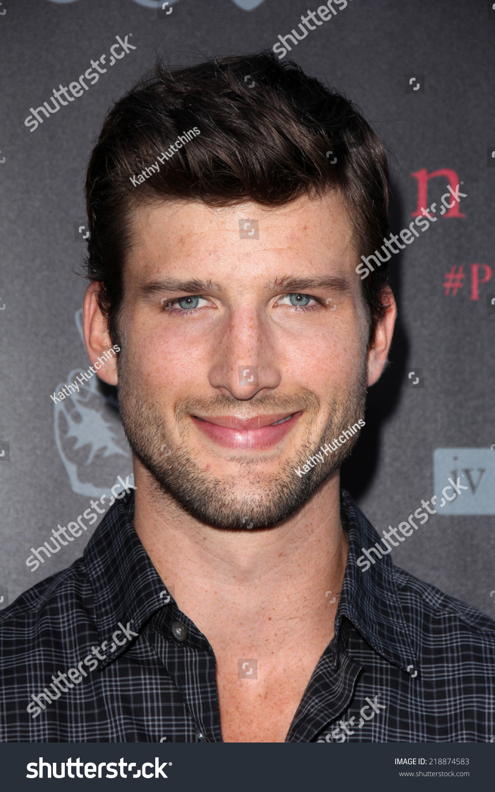 Los Angeles Sep 21 Parker Young Stock Photo Edit Now 218874583