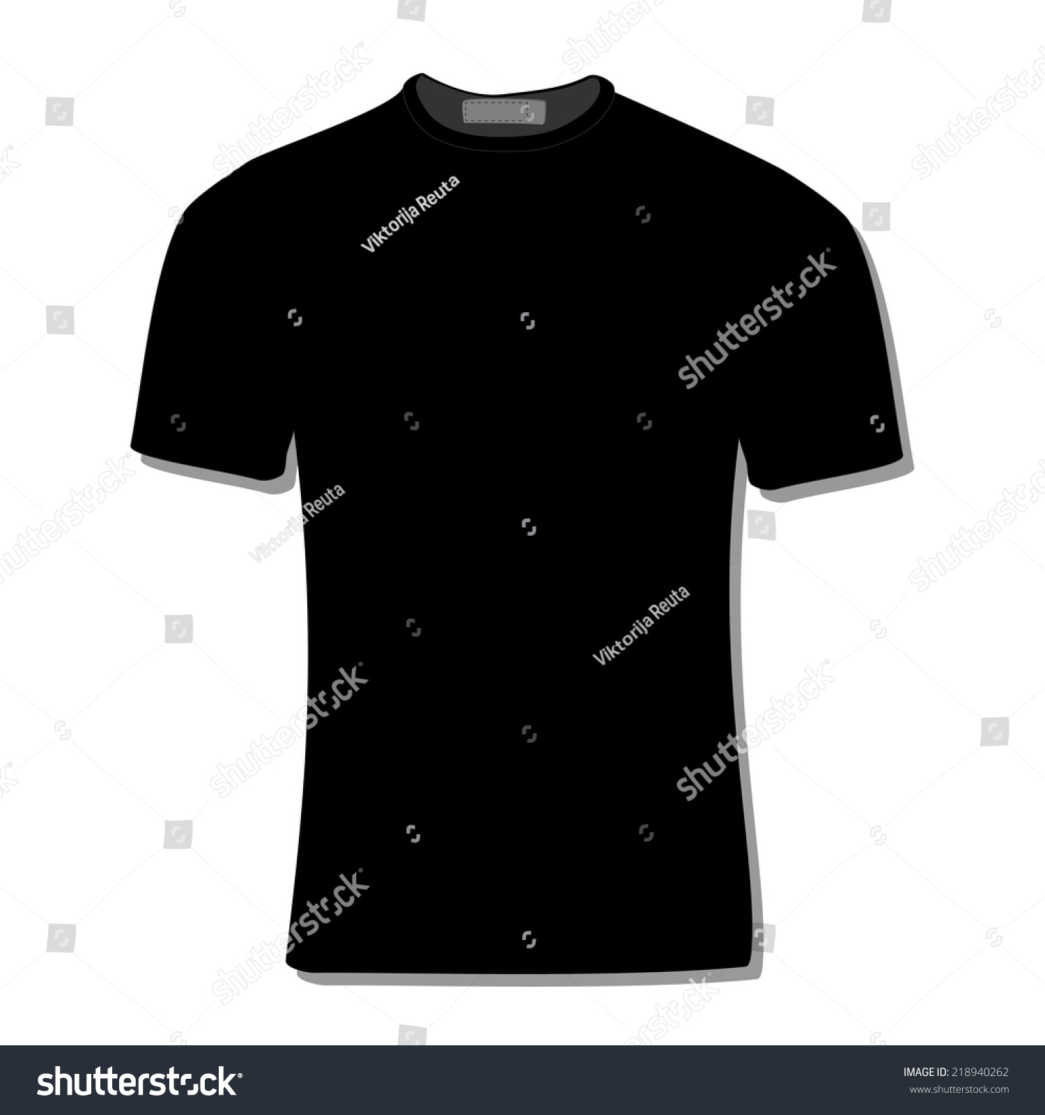 Black t shirt vector template - Illustration Of T Shirt Clothes Man Shirt Polo Shirt Black Shirt