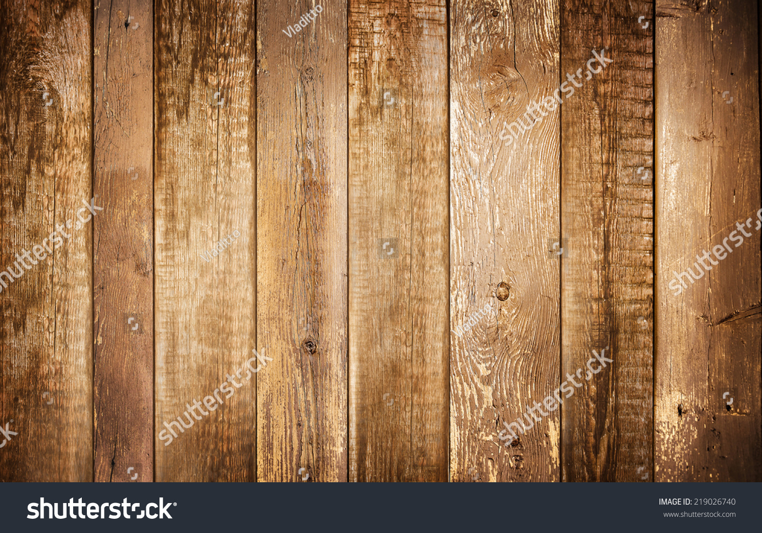 Background brown old natural wood planks stock photo