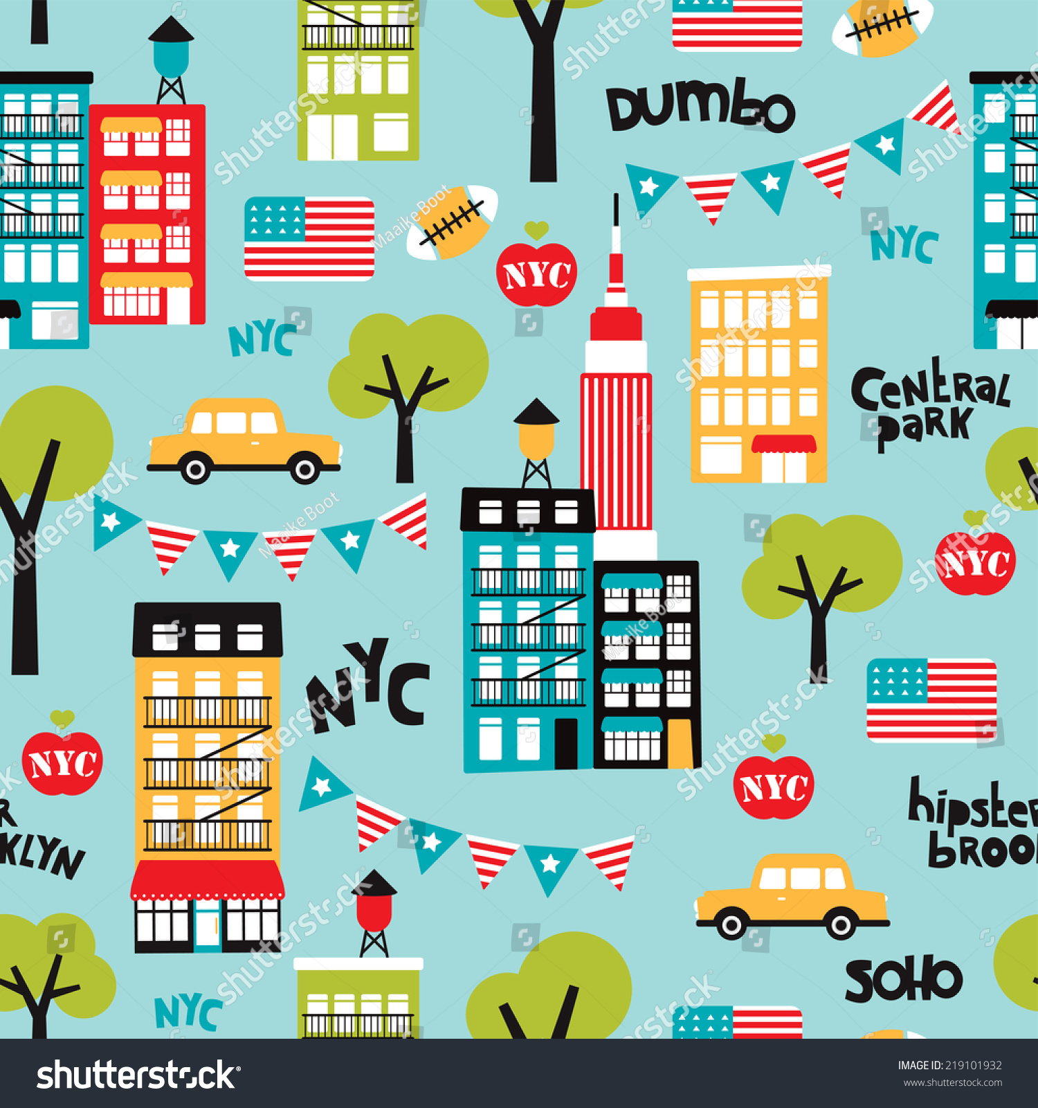 Photo York Avopix Icon… City Stock com Seamless 219101932 Travel New -