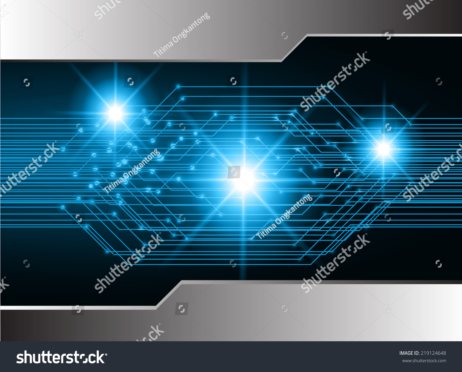 Blue Light Abstract Technology Background For Computer Graphic Circuit Board Design Grunge Stock Photos Website And Internet Ez Canvas