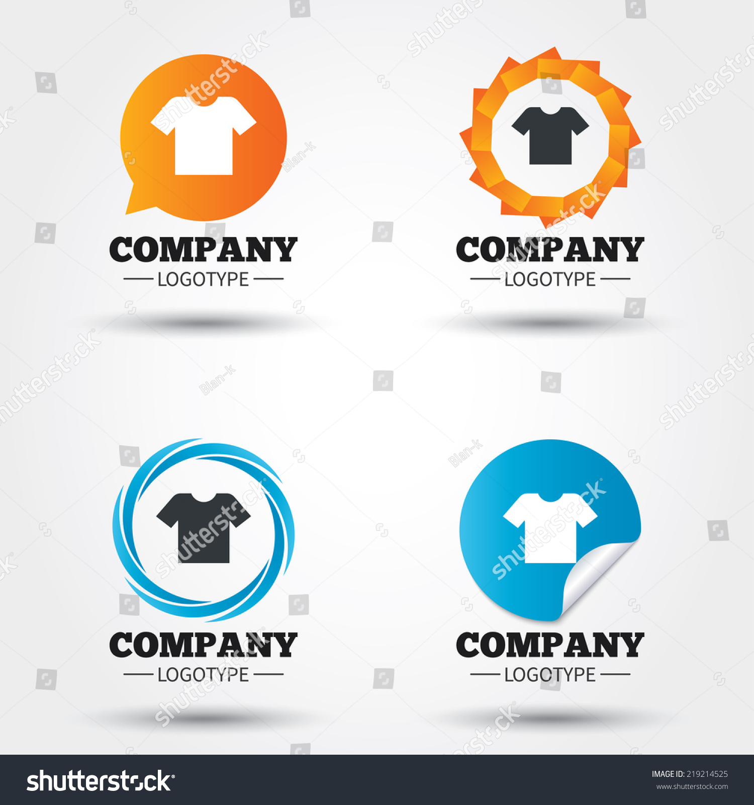 T shirt sign icon clothes symbol business abstract for T shirts for business logo