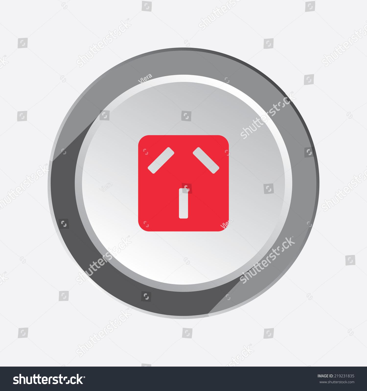Plug Power Stock Quote: Electric Plug Socket Base Icon Australian Stock Vector