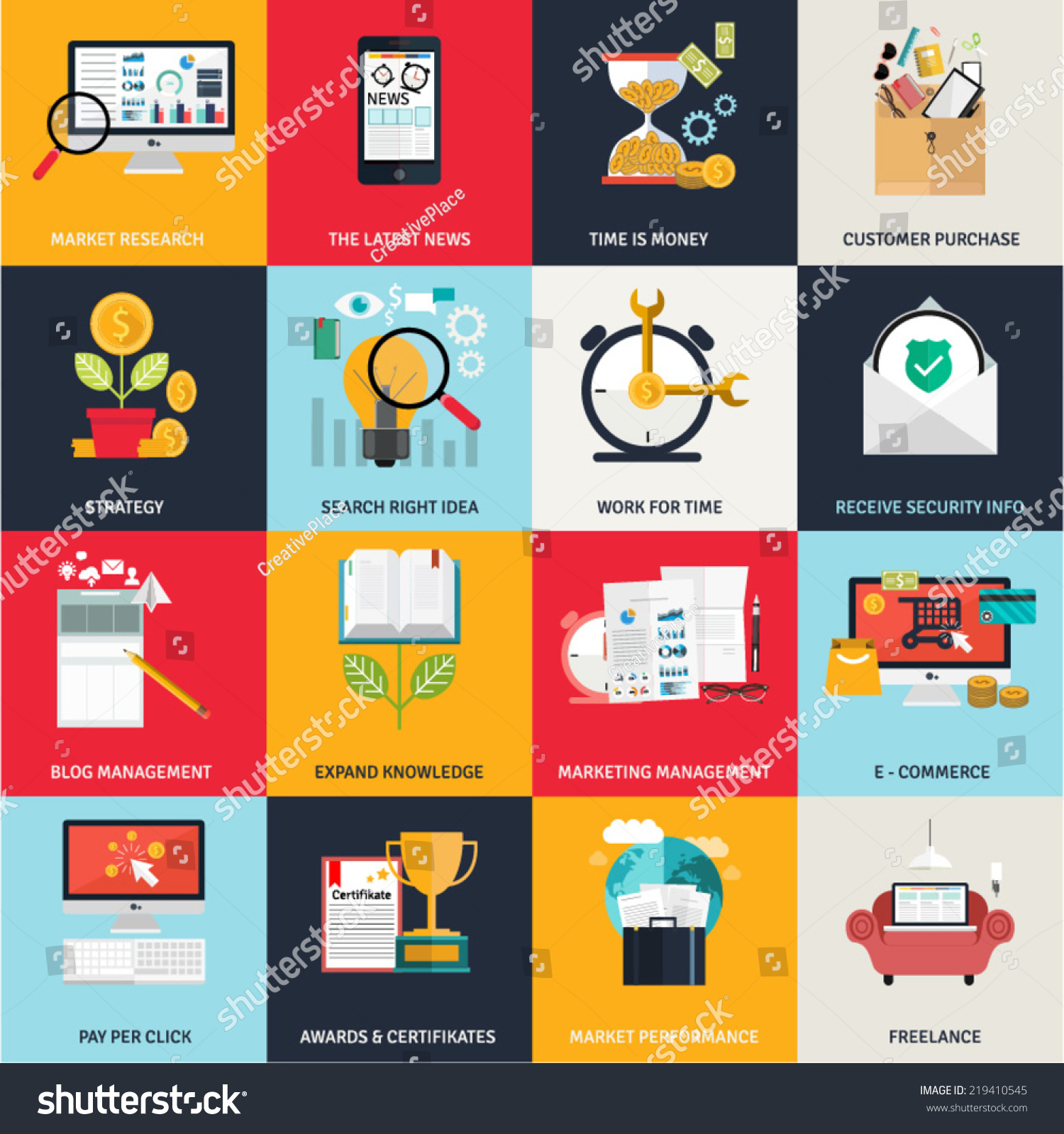 Flat design concept icons networking online stock vector 219410545 flat design concept icons for networking online education business e commerce payments buycottarizona Choice Image