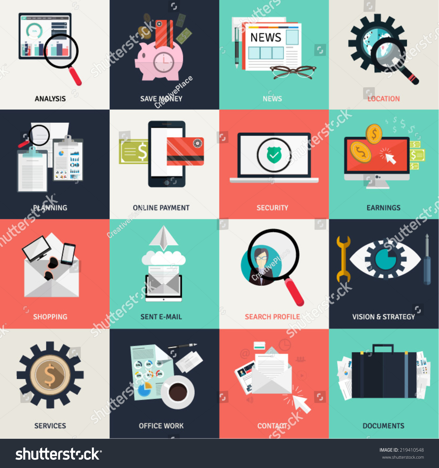 Flat design concept icons networking online stock vector 219410548 flat design concept icons for networking online education business e commerce payments buycottarizona Choice Image