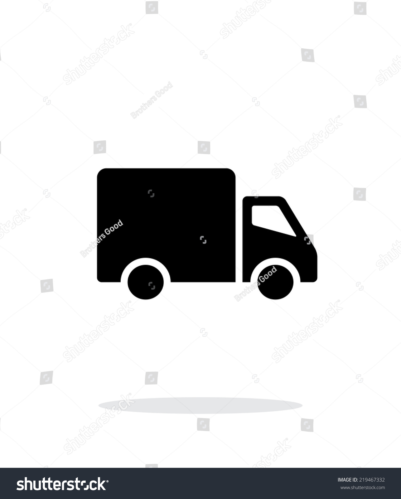 delivery truck icon vector - photo #28